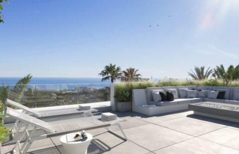 Le Blanc: luxueuze halfopen huizen in exclusief Sierra Blanca (Marbella)