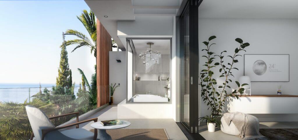 le blanc marbella sierra blanca exclusief spanje design villa te koop luxe terras