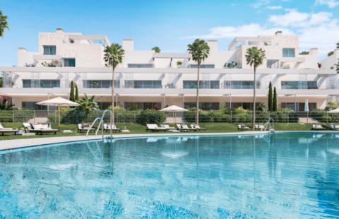 Palm Village: off-plan nieuwbouw project vlakbij het strand (Cancelada)