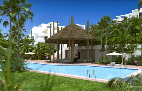 Atalaya Hills: moderne penthouses vlakbij golf en strand in Estepona