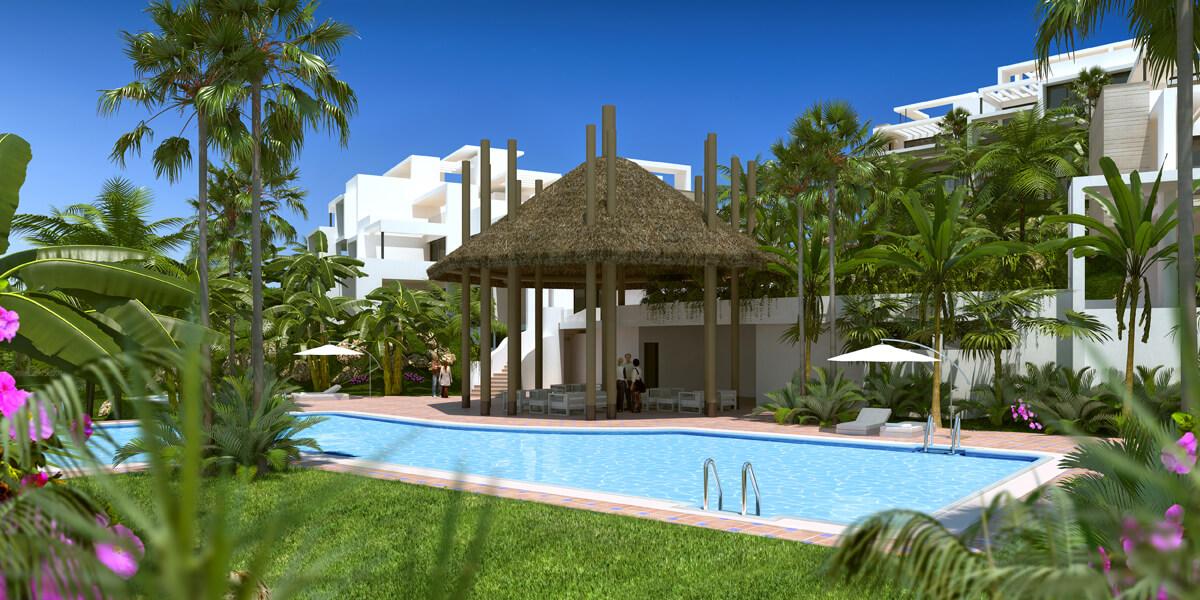 atalaya hills estepona costa del sol spanje appartement penthouse kopen zwembad