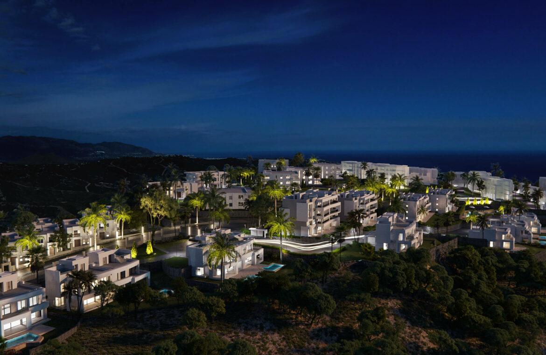soul marbella golf appartement te koop monteros luxe luchtfoto