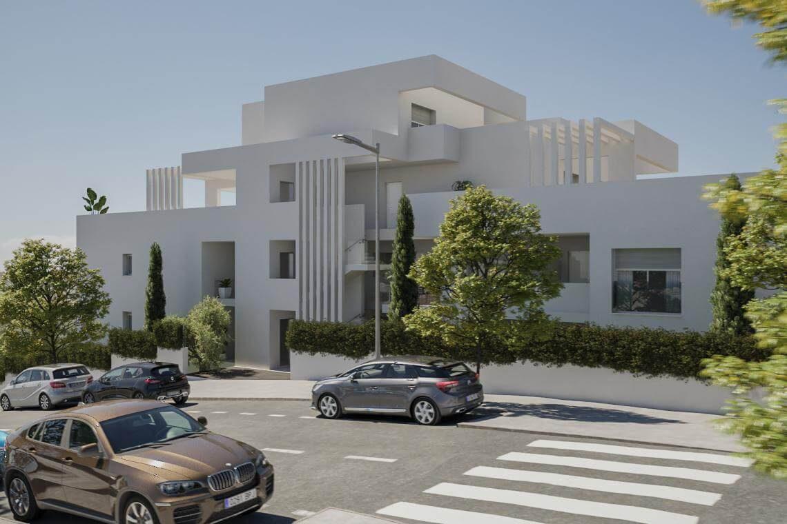 auditorium estepona costa del sol spanje vamoz marbella wandelafstand zee restaurants appartement te koop