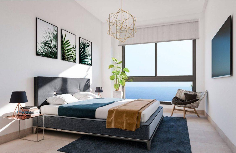 middel views fuengirola costa del sol spanje appartement kopen zeezicht wandelafstand strand golf PH bed