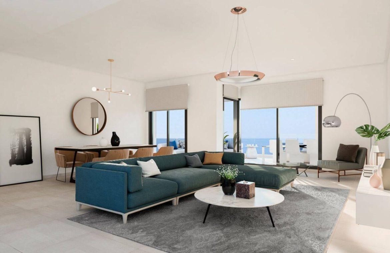 middel views fuengirola costa del sol spanje appartement kopen zeezicht wandelafstand strand golf PH salon