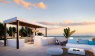 middel views fuengirola costa del sol spanje appartement kopen zeezicht wandelafstand strand golf dakterras
