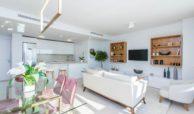 middel views fuengirola costa del sol spanje appartement kopen zeezicht wandelafstand strand golf leefruimte