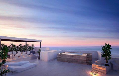 Middel Views: modern penthouse met prachtig zeezicht in Fuengirola