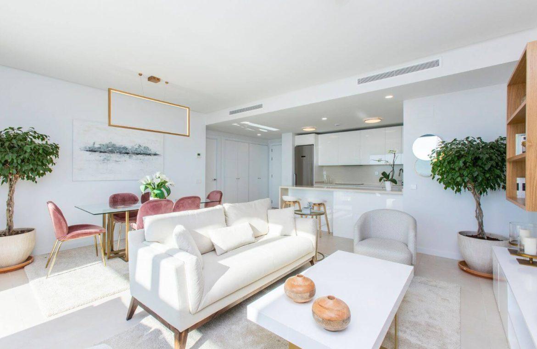 middel views fuengirola costa del sol spanje appartement kopen zeezicht wandelafstand strand golf salon