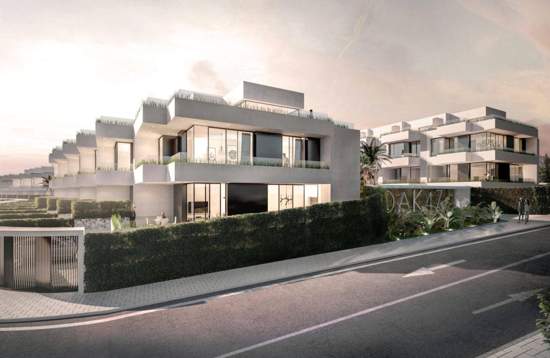 oak 47 fuengirola huis te koop costa del sol spanje modern design wandelafstand zee golf facade