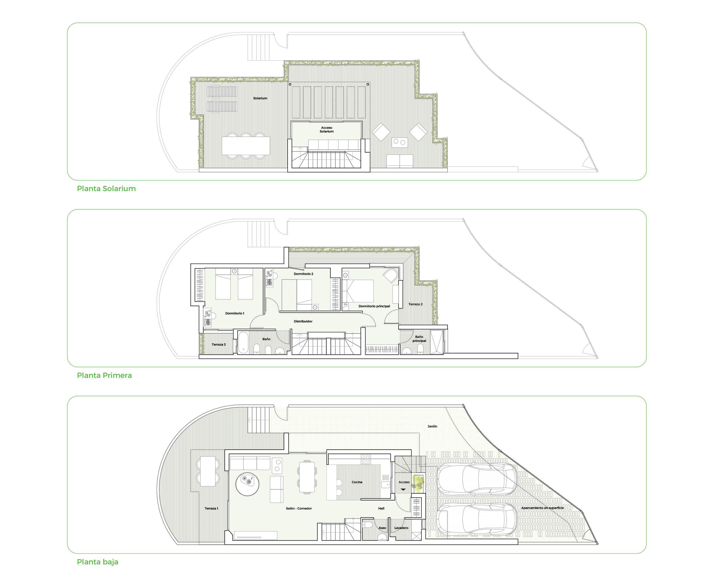 oak 47 fuengirola huis te koop costa del sol spanje modern design wandelafstand zee golf grondplan
