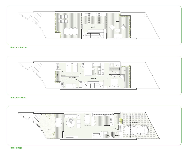 oak 47 fuengirola huis te koop costa del sol spanje modern design wandelafstand zee golf grondplannen