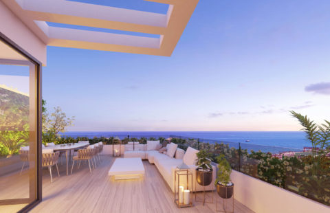 Oak 47:  moderne woningen op wandelafstand van het strand in Fuengirola