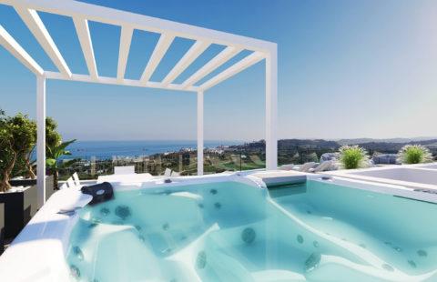 One80: zuidgerichte penthouses op wandelafstand van de zee in Estepona