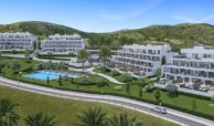 one heights cala de mijas calanova golf resort appartement kopen costa del sol spanje zeezicht plan