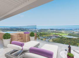 one heights cala de mijas calanova golf resort appartement kopen costa del sol spanje zeezicht solarium