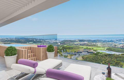 One Heights: 68 boutique golf resort appartementen in La Cala de Mijas