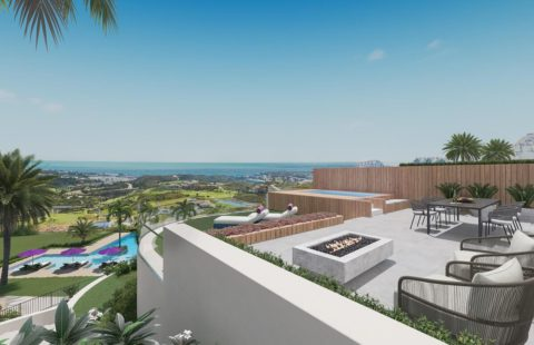 One Heights: boutique golf resort penthouses in La Cala de Mijas