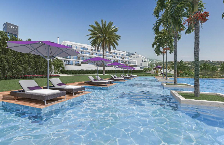 one heights cala de mijas calanova golf resort appartement kopen costa del sol spanje zeezicht zwembad