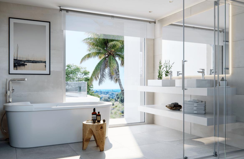 soul marbella sunset santa clara golf costa del sol appartement penthouse te koop spanje modern zeezicht badkamer