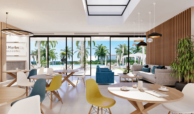 soul marbella sunset santa clara golf costa del sol appartement penthouse te koop spanje modern zeezicht club cafetaria
