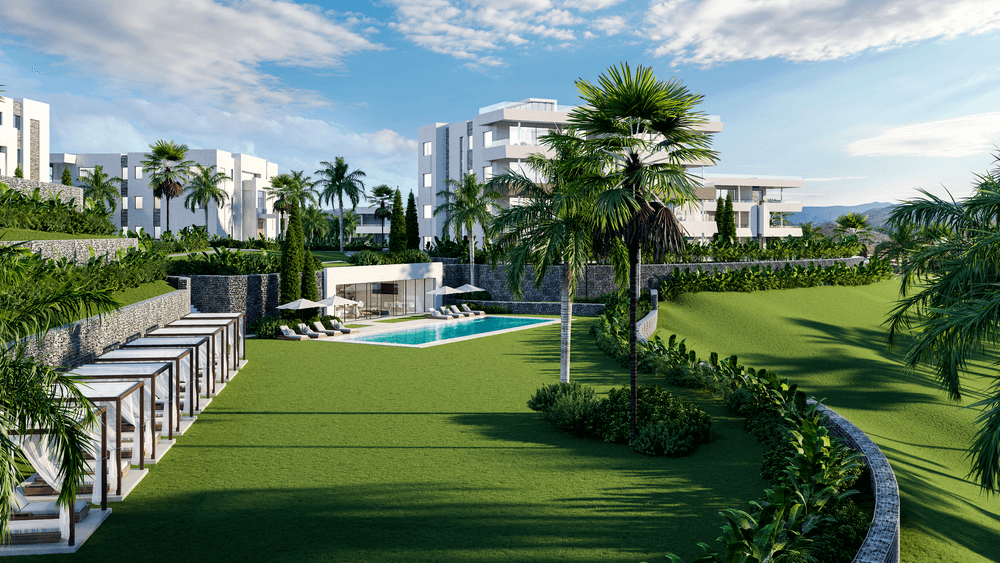 soul marbella sunset santa clara golf costa del sol appartement penthouse te koop spanje modern zeezicht project