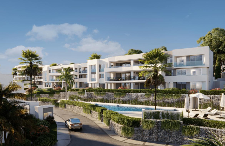 soul marbella sunset santa clara golf costa del sol appartement penthouse te koop spanje modern zeezicht tuin