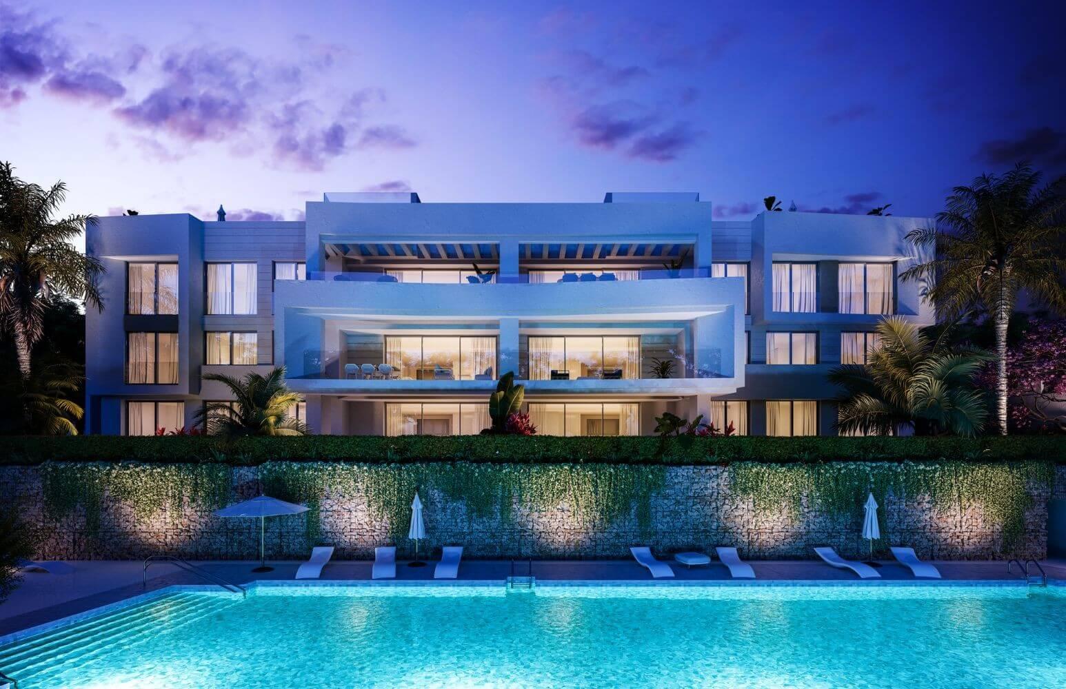 soul marbella sunset santa clara golf costa del sol appartement penthouse te koop spanje modern zeezicht