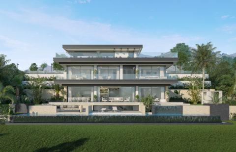Oceanica: kleinschalig luxe project met 5 villa's op een toplocatie in Elviria