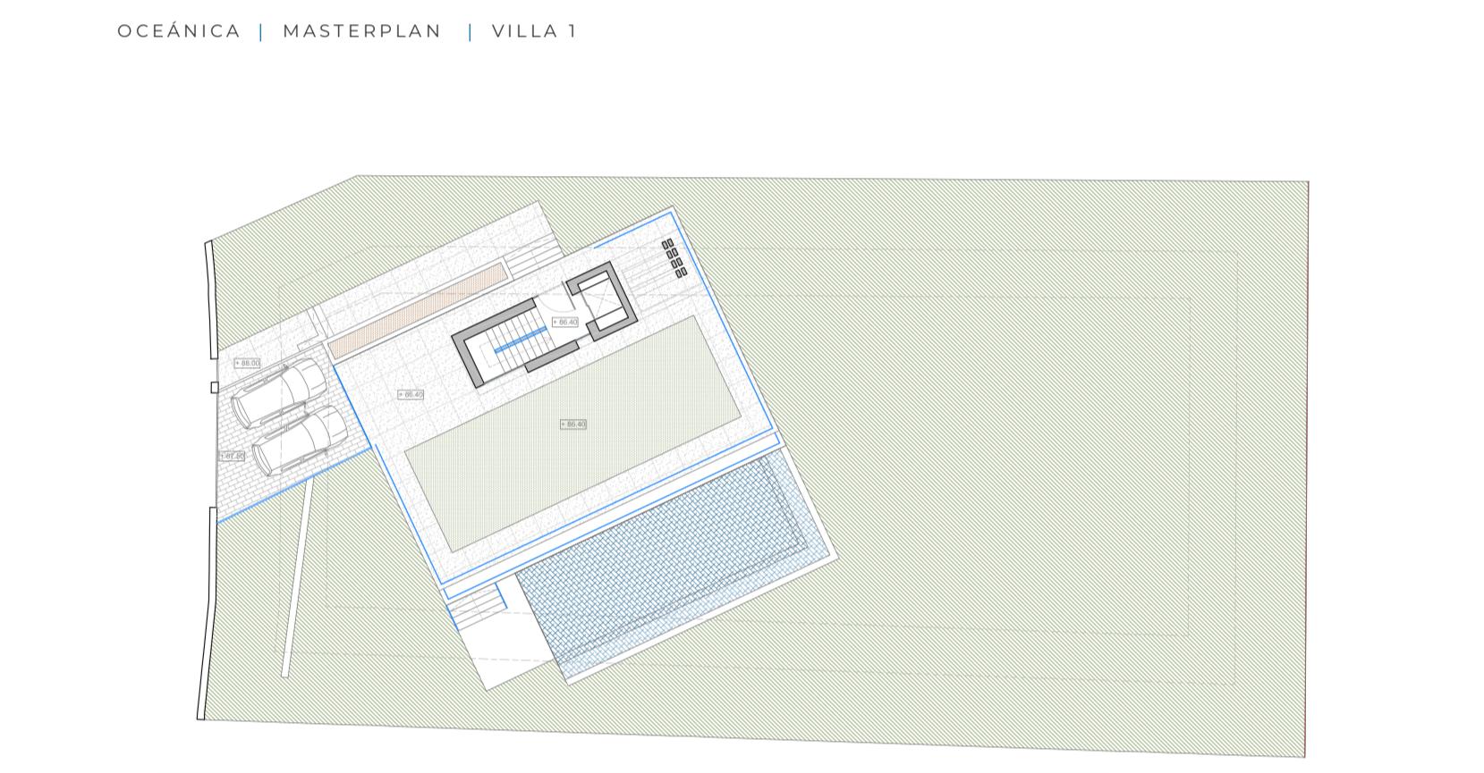 oceanica villa kopen spanje costa del sol elviria marbella nieuwbouw zeezicht grondplan