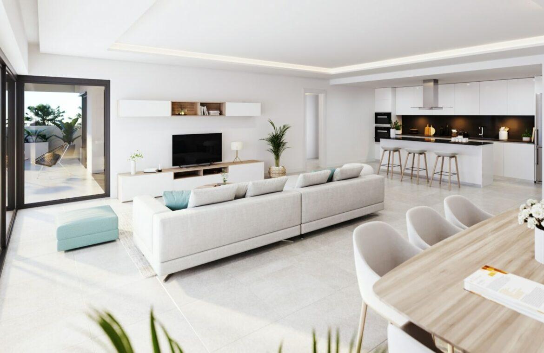 alexia life las mesas estepona costa del sol spanje appartement kopen nieuwbouw zeezicht luxe vamoz eethoek