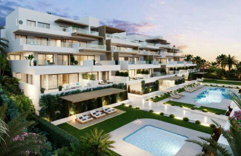 Alexia Life II: nieuwe zuidgerichte appartementen met zeezicht in Estepona