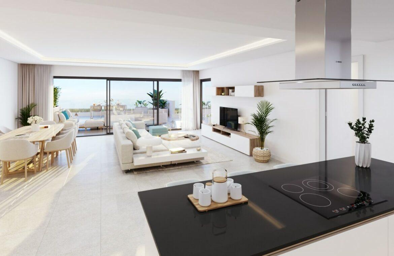alexia life las mesas estepona costa del sol spanje appartement kopen nieuwbouw zeezicht luxe vamoz kookeiland