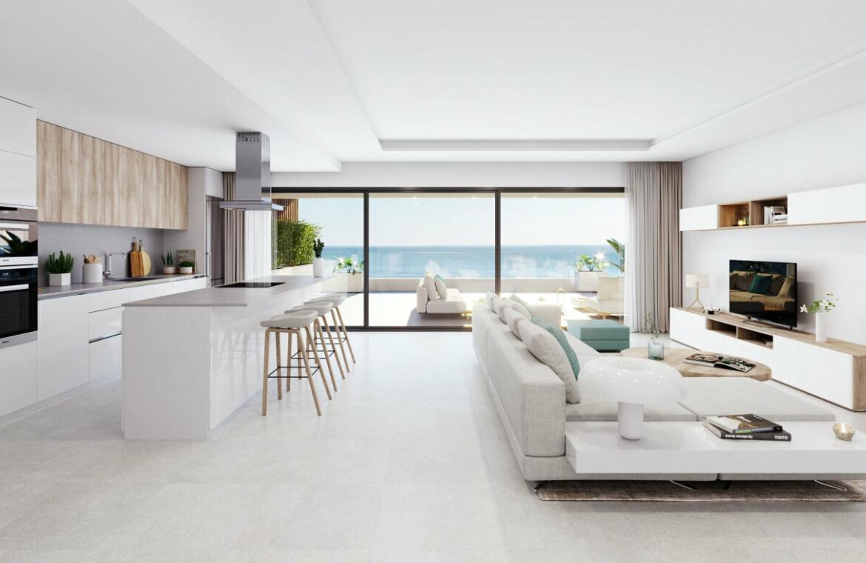 alexia life las mesas estepona costa del sol spanje appartement kopen nieuwbouw zeezicht luxe vamoz leefruimte