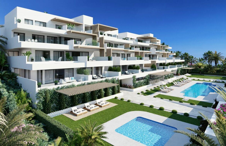 alexia life las mesas estepona costa del sol spanje appartement kopen nieuwbouw zeezicht luxe vamoz wandelafstand