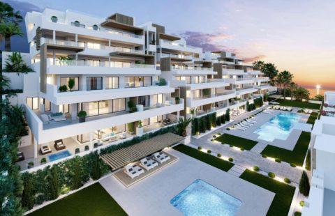 Alexia Life: nieuwe zuidgerichte appartementen met zeezicht in Estepona