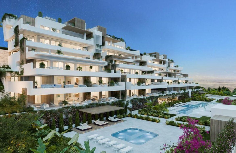 alexia life las mesas estepona costa del sol spanje appartement kopen nieuwbouw zeezicht project