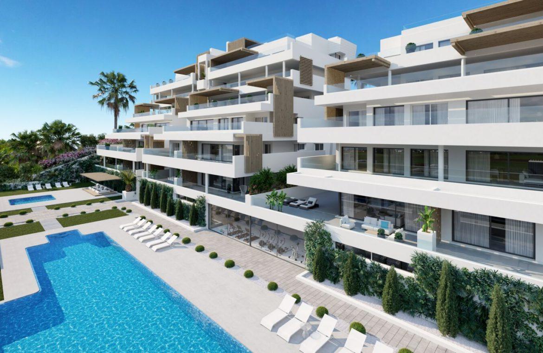 alexia life las mesas estepona costa del sol spanje appartement kopen nieuwbouw zeezicht zwembad