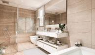 elite la cala golf appartement penthouse huis te koop costa del sol spanje zeezicht badkamer