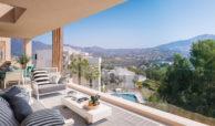 elite la cala golf appartement penthouse huis te koop costa del sol spanje zeezicht terras