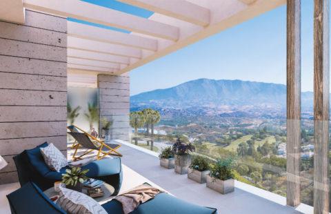 Elite: luxe nieuwbouw penthouses omgeven door golfbanen in La Cala Golf