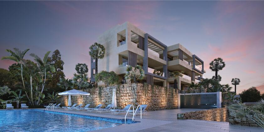 elite la cala golf appartement penthouse huis te koop costa del sol spanje zeezicht zwembad