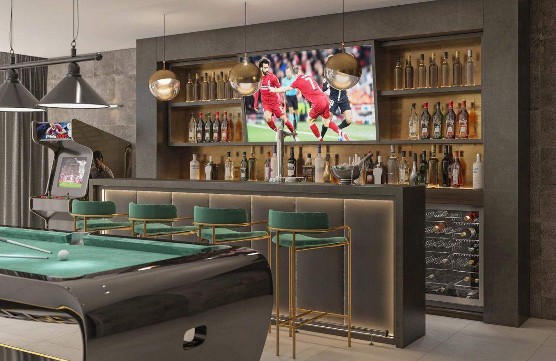 elysium golf villa te koop mijas la cala golfbaan resort nieuwbouw spanje costa del sol bar