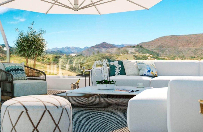 elysium golf villa te koop mijas la cala golfbaan resort nieuwbouw spanje costa del sol chill