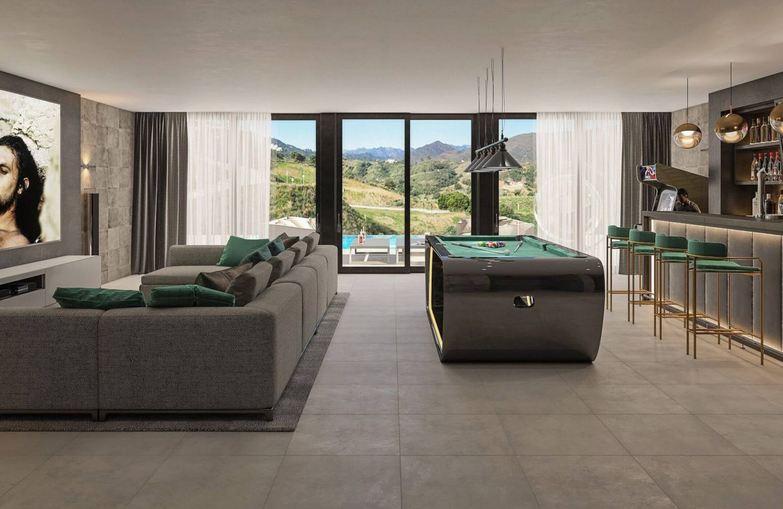 elysium golf villa te koop mijas la cala golfbaan resort nieuwbouw spanje costa del sol cinema