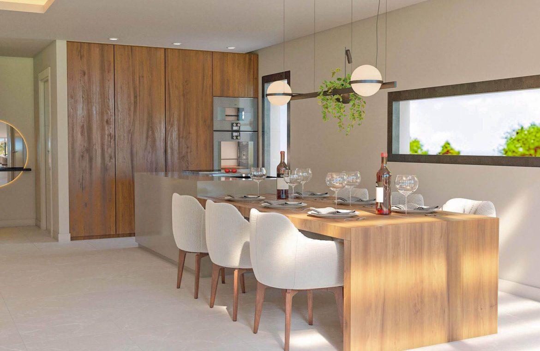 elysium golf villa te koop mijas la cala golfbaan resort nieuwbouw spanje costa del sol keuken