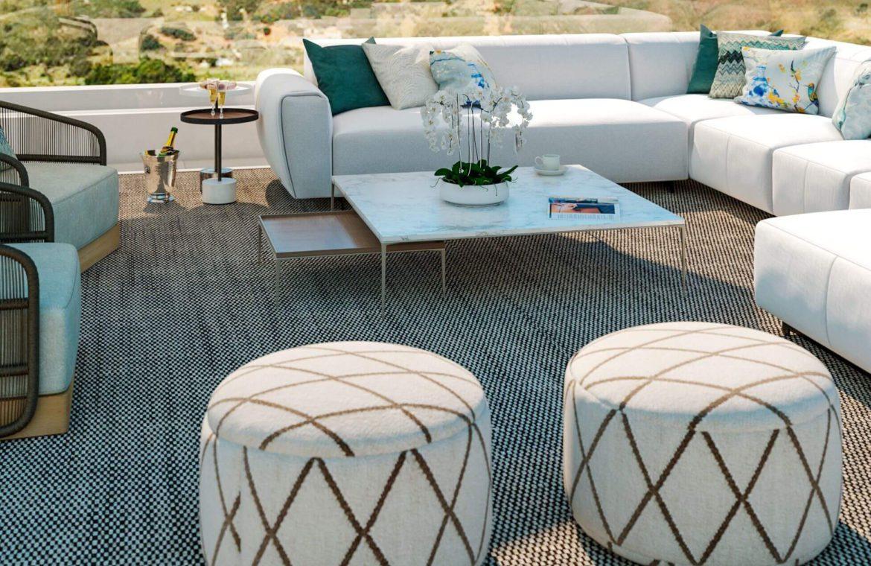 elysium golf villa te koop mijas la cala golfbaan resort nieuwbouw spanje costa del sol lounge