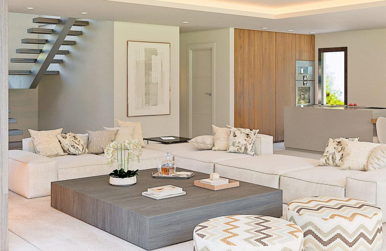 elysium golf villa te koop mijas la cala golfbaan resort nieuwbouw spanje costa del sol salon