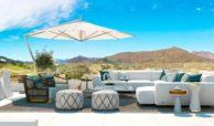 elysium golf villa te koop mijas la cala golfbaan resort nieuwbouw spanje costa del sol terras