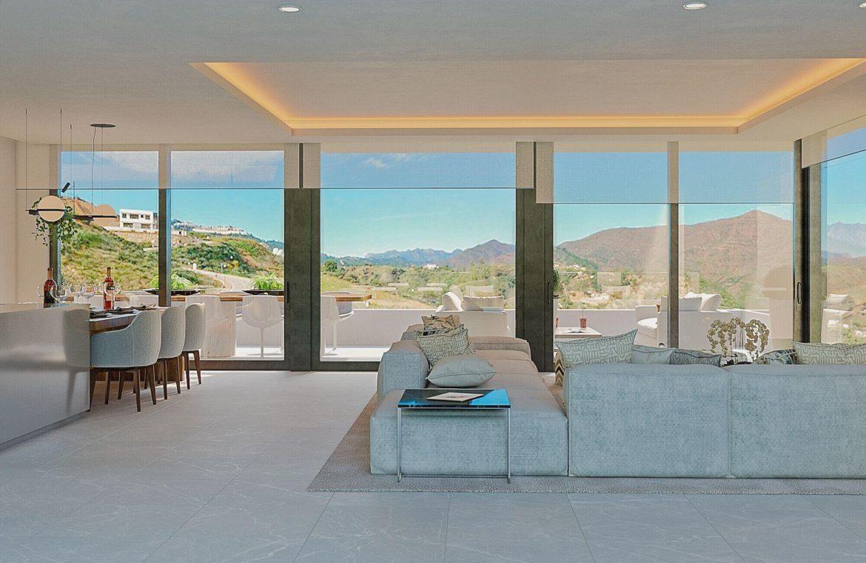 elysium golf villa te koop mijas la cala golfbaan resort nieuwbouw spanje costa del sol zichten